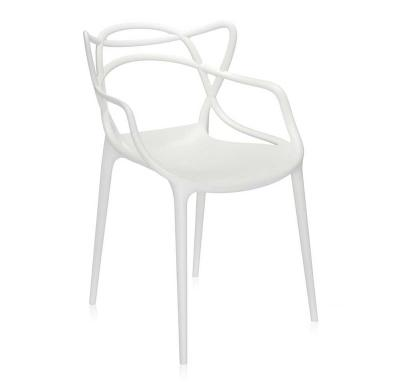 Masters Stapelstühle Kartell Farbe: weiss