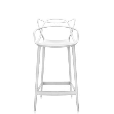 Masters Stool Stapelstühle Kartell Farbe: weiss Höhe: 99 cm