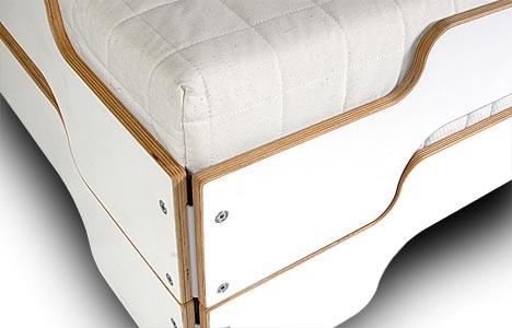 designwebstore stapelliege melamin mit multiplexkante. Black Bedroom Furniture Sets. Home Design Ideas