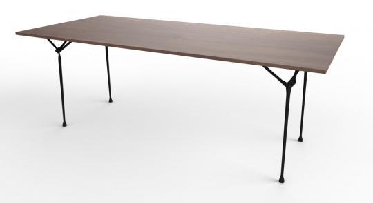 Officina verzinkt-schwarz | 90x90cm