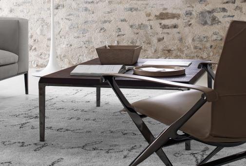 Michel 90x60x40 cm | bronzefarben lackiert