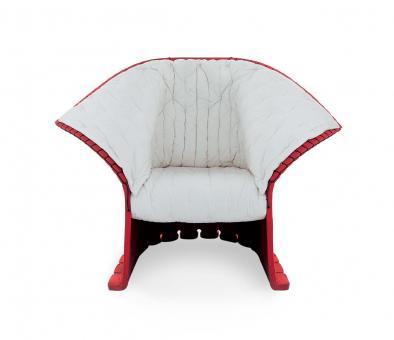 Feltri braun, Sitz rot | ohne