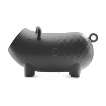 Hausschwein schwarz