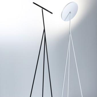 Faro Deckenfluter schwarz | 198cm | 2700K