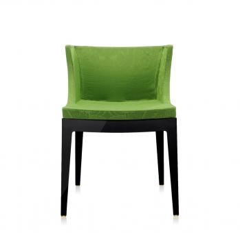 Mademoiselle schwarz | Damast grün