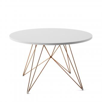 designwebstore xz3 tisch marmor verchromt carrara. Black Bedroom Furniture Sets. Home Design Ideas