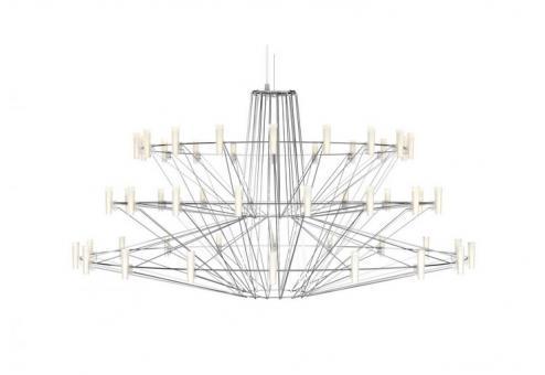 Coppélia Suspended Lamp Coppélia Suspendend Lamp polish stainless