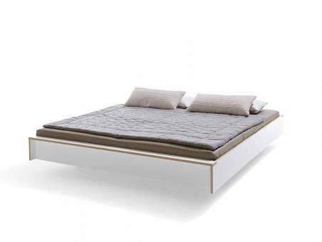 designwebstore flai bett weiss 160 x 200 cm ohne kopfteil ohne beleuchtung ohne. Black Bedroom Furniture Sets. Home Design Ideas