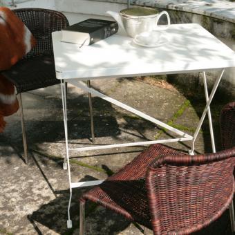 designwebstore flip balkon und beistelltisch schwefelgelb ral 1016. Black Bedroom Furniture Sets. Home Design Ideas