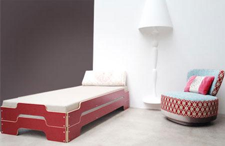 designwebstore komplettangebot stapelliege multiplex mit lattenrosten und matratzen. Black Bedroom Furniture Sets. Home Design Ideas