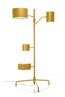 Statistocrat Floor Lamp Golden Yellow