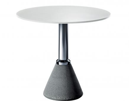Table One Bistro ø 60cm/H 110cm | weiß