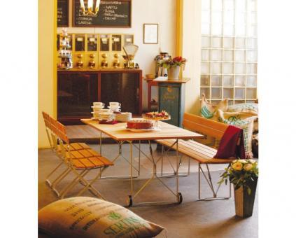 Balance Tisch Gestell weiß   160cm
