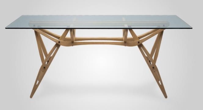 Reale Tisch Zanotta Maße: 90 x 200 cm Farbe: Eiche, natur