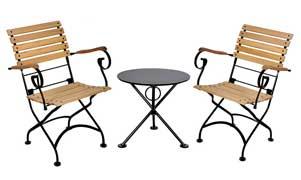 designwebstore garten klappstuhl 5510 ral 7016 anthrazit kastanie. Black Bedroom Furniture Sets. Home Design Ideas