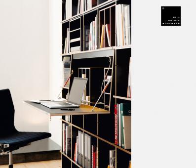 designwebstore fnp mit sekret r fu schwarz. Black Bedroom Furniture Sets. Home Design Ideas