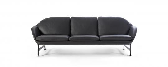 designwebstore vico melange stoffgruppe o 2sitzer matt schwarz. Black Bedroom Furniture Sets. Home Design Ideas