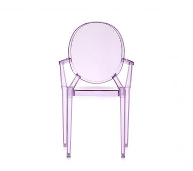 designwebstore | OUTLET Lou Lou Ghost Kinderstuhl violett transparent