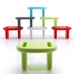 B-Line Snoop Schemel Hocker Tisch Regal