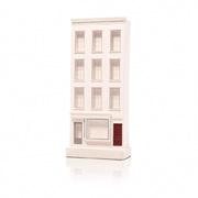 Chisel & Mouse 397 Bleeker Street Model Building Miniatur Gebäudeskulptur