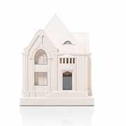 Chisel & Mouse Behrens House Model Building Miniatur Gebäudeskulptur