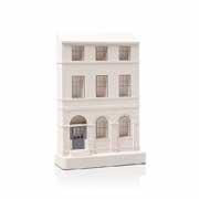 Chisel & Mouse Charlotte Square Model Building Miniatur Gebäudeskulptur