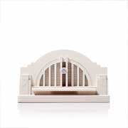 Chisel & Mouse Cincinnati Union Terminal Model Building Miniatur Gebäudeskulptur