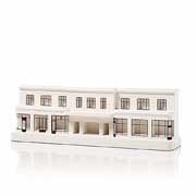 Chisel & Mouse Farringdon Station Model Building Miniatur Gebäudeskulptur