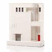 Chisel & Mouse Fisher Apartments Model Building Miniatur Gebäudeskulptur