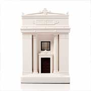 Chisel & Mouse Freemason´Hall Model Building Miniatur Gebäudeskulptur