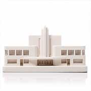 Chisel & Mouse Greyhound Terminal Model Building Miniatur Gebäudeskulptur