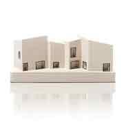 Chisel & Mouse Hepworth Gallery Wakefield Model Building Miniatur Gebäudeskulptur