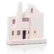 Chisel & Mouse Hill House Model Building Miniatur Gebäudeskulptur