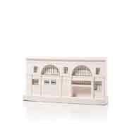 Chisel & Mouse Mornington Crescent Station Model Building Miniatur Gebäudeskulptur
