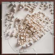 Chisel & Mouse New York 3D Relief Karte
