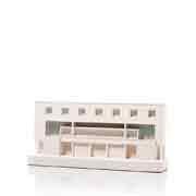 Chisel & Mouse Willow Road Model Building Miniatur Gebäudeskulptur