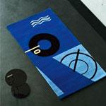 Classicon Blue Marine Teppich Eileen Gray