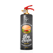 Safe T Burger Design Feuerlöscher DNC TAG