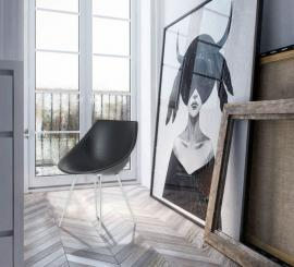 Driade Lago` Stuhl Philippe Starck