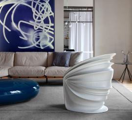 Driade Modesty Veiled Sessel Italo Rota
