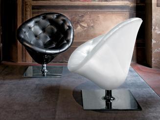 Driade Moor(e) schwarz Sessel Philippe Starck