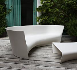 Driade Plié Sofa L + R Palomba