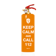 Safe T Keep Calm Design Feuerlöscher DNC TAG