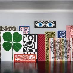 Vitra Environmental Enrichment Panels Wandbilder Alexander Girard
