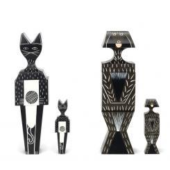 Vitra Wooden Dolls - Cat & Dog Holzfiguren Alexander Girard