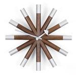 Vitra Wheel Clock Wanduhr