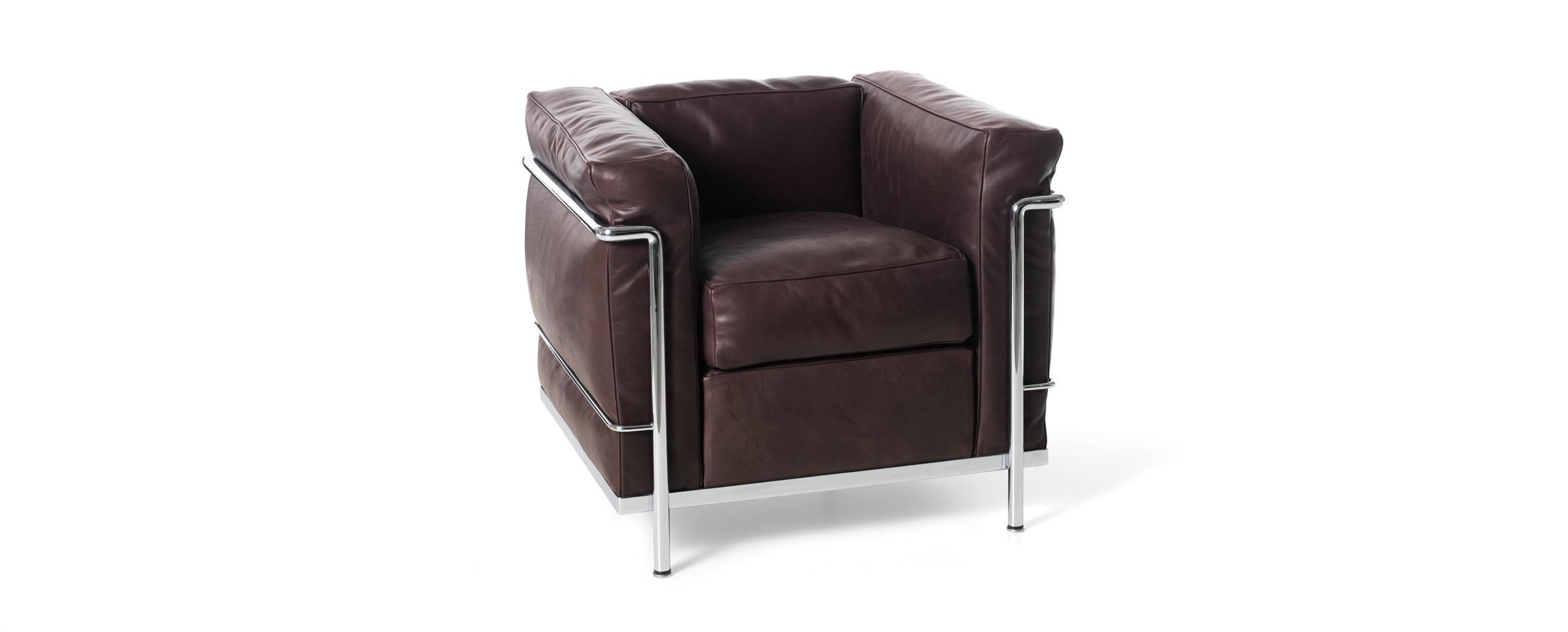 designwebstore lc2 schwarz matt lackiert canvas 13e158. Black Bedroom Furniture Sets. Home Design Ideas