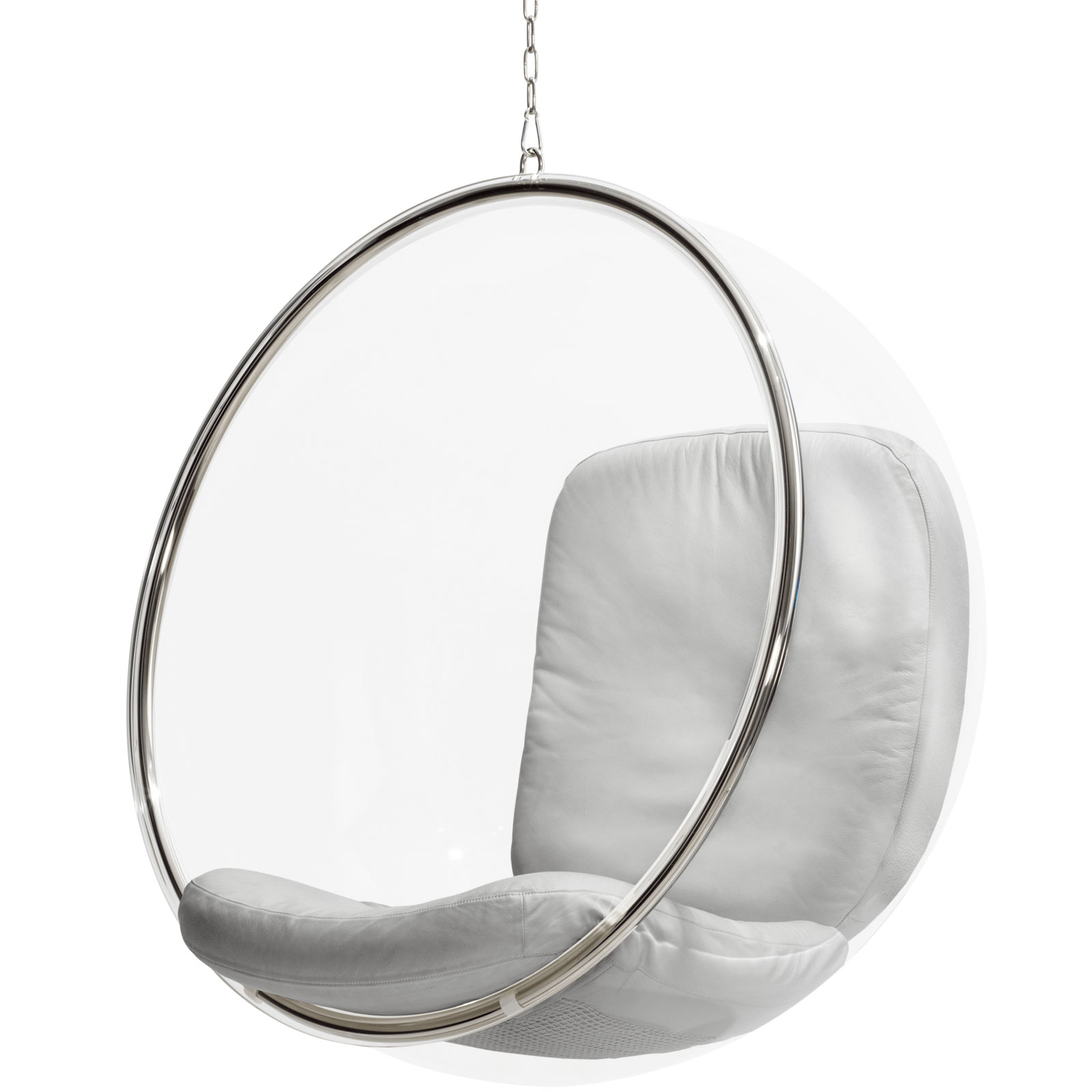 Designwebstore Bubble Chair Von Eero Aarnio Leder Silber