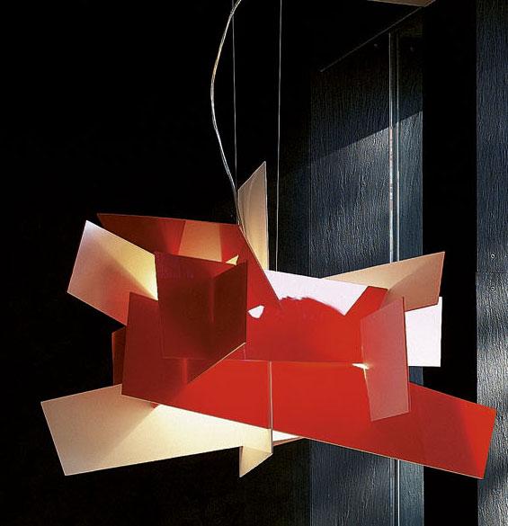designwebstore big bang pendelleuchte rosso leuchtstoff. Black Bedroom Furniture Sets. Home Design Ideas