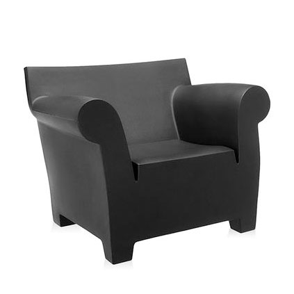 designwebstore bubble club sessel mit polster schwarz. Black Bedroom Furniture Sets. Home Design Ideas